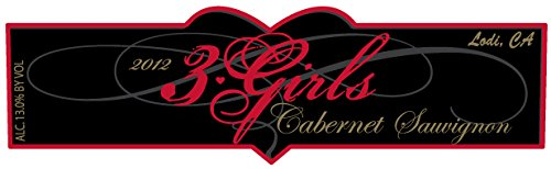 2012 3 Girls Cabernet Sauvignon Lodi 750 Ml