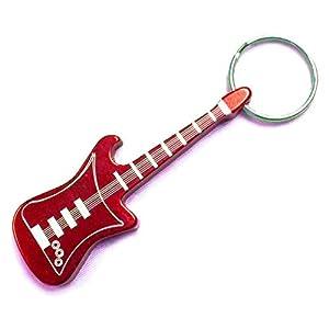 guitar keychain keyring bottle opener. Black Bedroom Furniture Sets. Home Design Ideas
