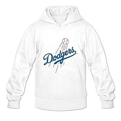 Los Angeles Dodgers Logo Design Men's Hoodies Sweatshirt White By Yisw