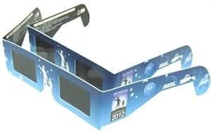 日食グラス 2個セット【日食観測メガネ】