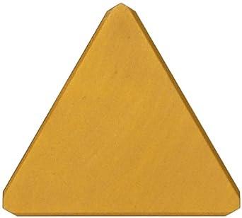 "Sandvik Coromant T-MAX MILLING  Carbide Milling Insert, TPC Style, Triangle, GC235 Grade, TiCN Coating, TPC22P1,0.250"" Thick, 0"" Corner Radius (Pack of 10)"