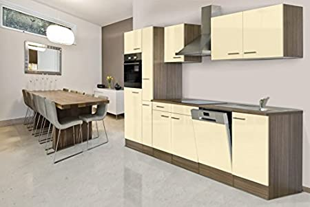 Respekta Kitchen Unit/Empty Empty Kitchen Unit 310 cm oak York Vanilla