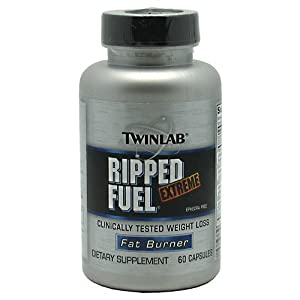 Twinlab Ripped Fuel Xtrme Ephr Fr 60 cap ( Multi-Pack)