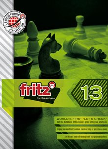 Fritz 13 - Chess Playing and Analysis Program (PC-DVD)