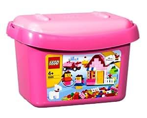 レゴ 基本セット ピンクのコンテナ 5585