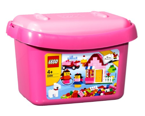 LEGO Creative Building 5585 Pink Brick Box