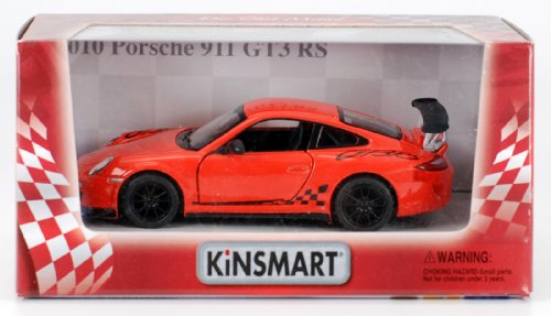 2010 Porsche 911 GT3 RS 1:36 Scale (Orange) - 1