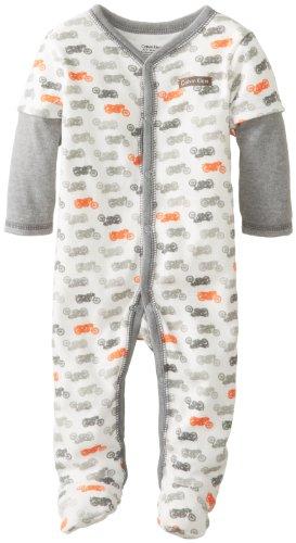 Calvin Klein Baby-Boys Newborn Twofer Printed