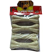 Super Dog Chew Bone Small 4 Pieces (Pack Of 2)