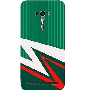 Casotec Lighting Pattern Print Design Hard Back Case Cover for Asus Zenfone Selfie ZD551KL