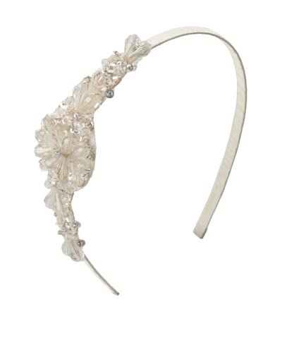 Marie Hayden Women's Side Beaded Headband, Ivory, One Size