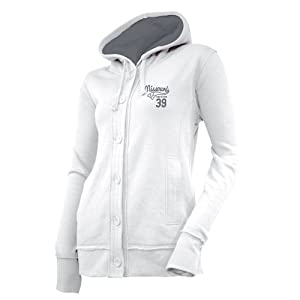 NCAA Missouri Tigers Ladies Chunky Cable Hoodie by Ouray Sportswear