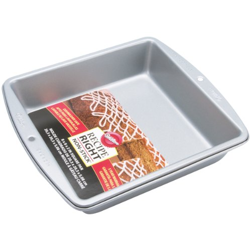 Wilton Recipe Right 8-Inch Square Pan