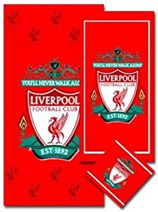 Liverpool Fc 3 Piece Towel Set from Liverpool FC