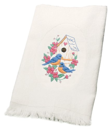Dimensions Needlecrafts Embroidery, Birds Guest Towels front-876665