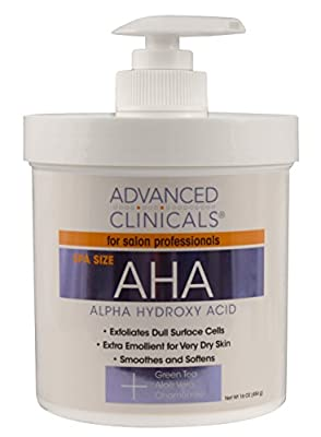 Advanced Clinicals Alpha Hydroxy Acid - 16oz Spa Size