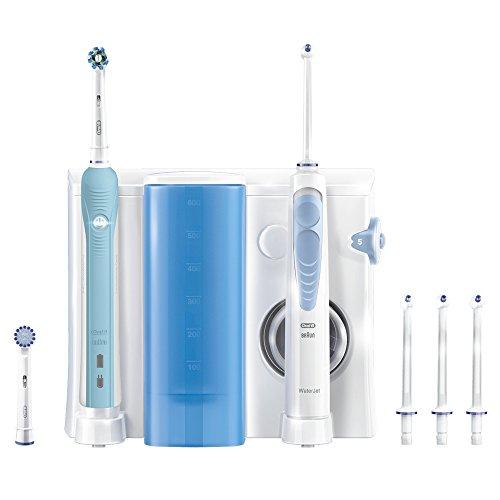 Oral-B PRO Center 700 Elektrische Zahnbürste plus OxyJet-Mundusche