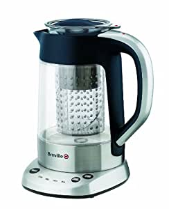 Breville VKJ436 Puratea Stainless Steel and Glass Tea Maker