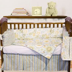 Striped Crib Bumper front-994958