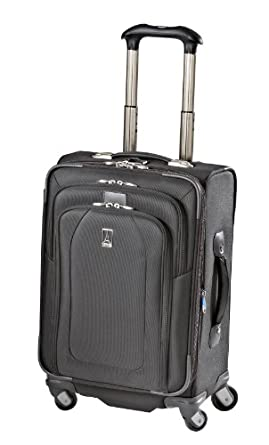 Travelpro Luggage Crew 9 21-Inch Expandable Suiter Spinner Bag, Black, One Size