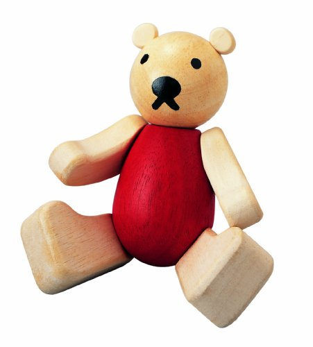 plan-toys-jouet-premier-age-ourson-en-bois-articule-pour-enfants