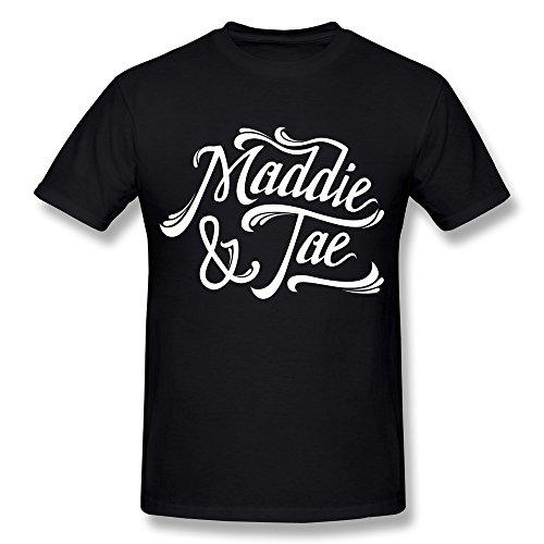 Uomo's Maddie & Tae Logo T-Shirt- Nero