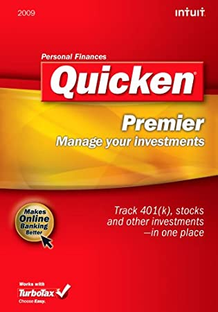 Quicken 2009 Premier  [Download] [OLD VERSION]
