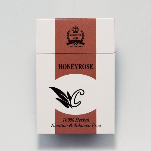 "Honeyrose ""C"" Chocolate Flavor Tobacco Free Nicotine Free Herbal Cigarettes"