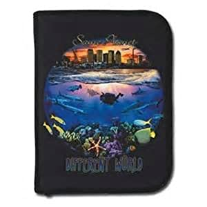 Buy Innovative - Amphibious Outfitters Same Planet Different World 3-Ring Zipper Log Book W  Inserts by Innovative Scuba Concepts