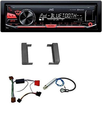 JVC-MP3-USB-Bluetooth-Autoradio-fr-Audi-A2-A3-8L-A4-B5-TT-1999-2006-Aktivsystem-Mini-ISO