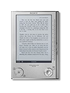 Sony Reader eBook Space for Up to 160 eBook