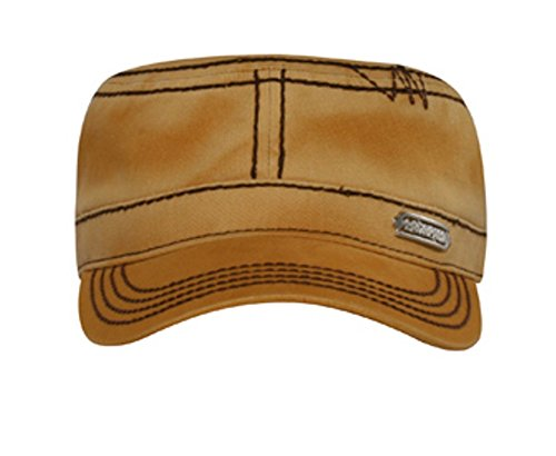 Hats & Caps Shop Contrast Stitching Military Style Cap - By TheTargetBuys