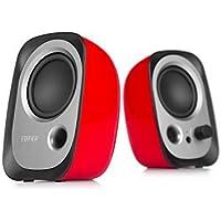 Edifier R12U Stereo Computer Bookshelf Speakers - Red Red