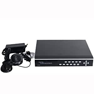VideoSecu 4 Channel DVR Video H.264 Network Embeded Stand Alone Security Digital Video Recorder Support Remote View iPhone Google Phone with 1000GB Hard Drive for CCTV Home Surveillance System 1YT