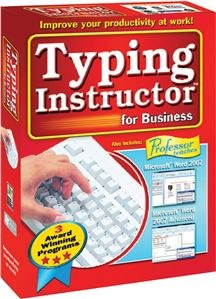 Individual Software Inc Typing Instructor For Business 2 Structured Touch-Typing Content Sm Box