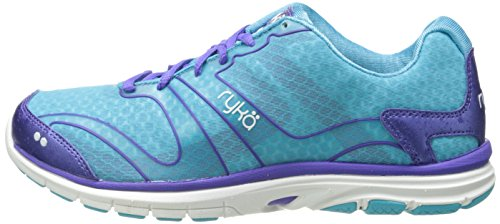 Ryka Women S Dynamic Cross Training Shoe Detox Blue Impulse Purple White