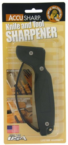 Fantastic Deal! Accu Sharp 008 OD Green Knife Sharpener