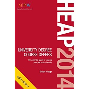 HEAP 2014: University Degree Course Offers (Paperback)