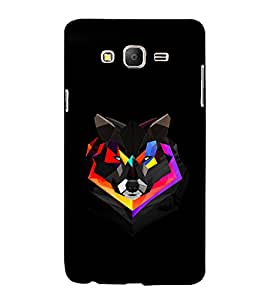 printtech Love Heart Abstract Back Case Cover for Samsung Galaxy On5