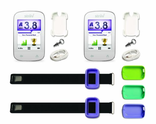 HM1U8R Striiv Smart Pedometer, Family Bundle
