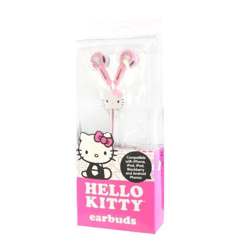 Hello Kitty Jeweled Earbud