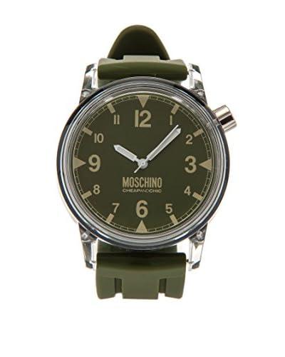 Moschino Cheap&Chic Reloj Plastic Fantastic Verde
