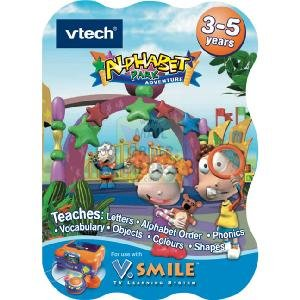 V Smile Alphabet Park Adventure Cartridge V Tech - 1