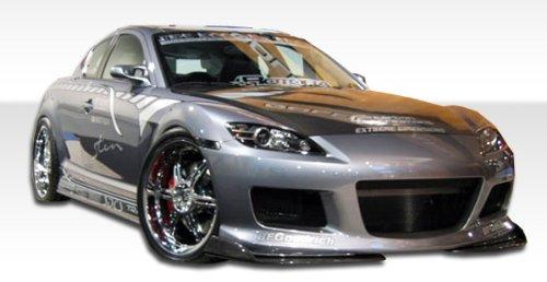 2004-2008 Mazda RX-8 Duraflex M-1 Speed Body Kit - 4 Piece - Includes M-1 Speed Front Bumper Cover (100582) M-1 Speed Rear Lip Under Spoiler Air Dam (100583) M-1 Speed Side Skirts Rocker Panels (100584)