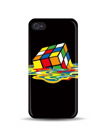 iPhone 5/5S 'di fusione cubo di Rubik' Big Bang Theory 3D cover cellulare