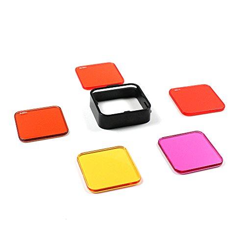 SANDMARC-Aqua-Filter-Tauchen-Filter-Set-Zubehr-fr-GoPro-Hero-4-3-Standard-Gehuse-5-Pack