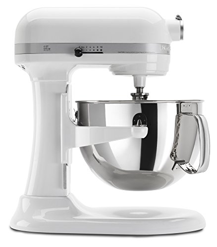 KitchenAid KP26M1XWH 6-Qt. Professional 600 Series - White (Metal Kitchenaid Beater compare prices)