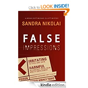 False Impressions (Megan Scott/Michael Elliott mystery)