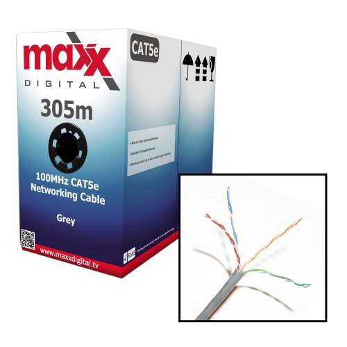 maxx-digital-cat5e-indoor-ethernet-rj45-1000ft-cca-internet-router-web-networking-patch-lead-lan-cab