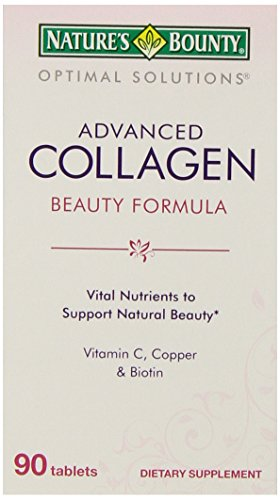 NATURE'S BOUNTY 自然之宝 Advanced Collagen 胶原蛋白 90片 $4.24(需Coupon)